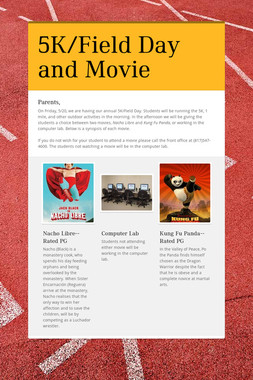 5K/Field Day and Movie