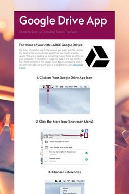 Google Drive App