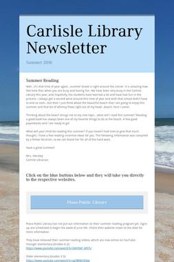 Carlisle Library Newsletter