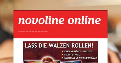 novoline online tricks