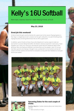 Kelly's 16U Softball