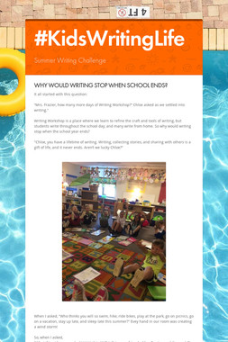 #KidsWritingLife