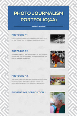 Photo Journalism Portfolio(4a)