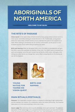 Aboriginals Of North America