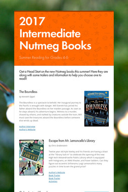 2017 Intermediate Nutmeg Books