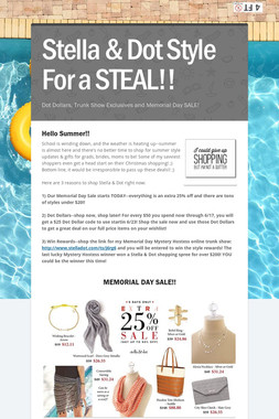 Stella & Dot Style For a STEAL!!