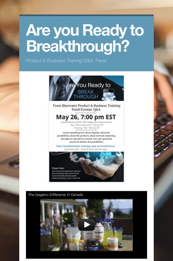 Are you Ready to Breakthrough?
