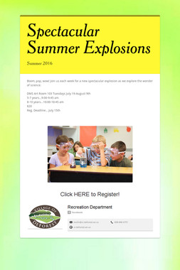 Spectacular Summer Explosions
