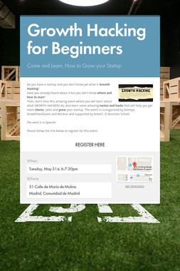 Growth Hacking for Beginners