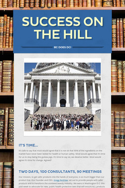 Success on the Hill