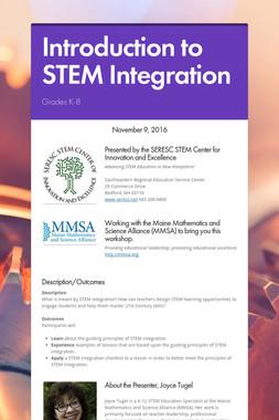 Introduction to STEM Integration