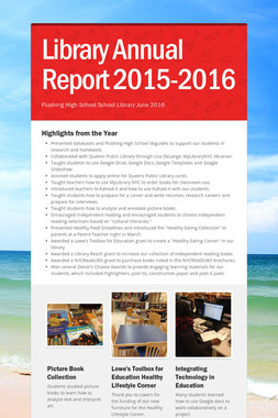 Library Annual Report 2015-2016