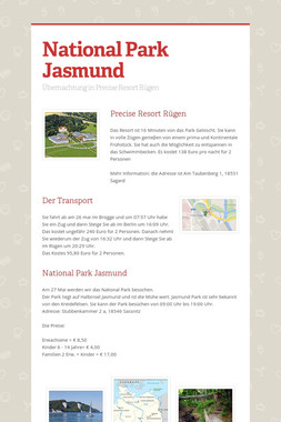 National Park Jasmund