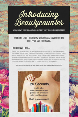 Introducing Beautycounter