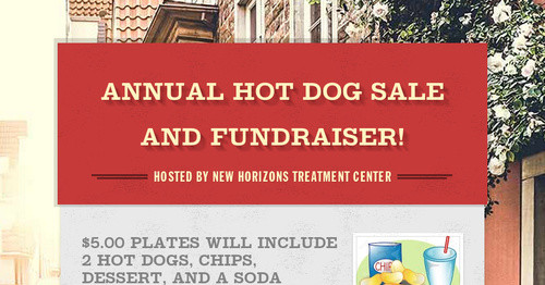 Annual Hot Dog Sale And Fundraiser Smore Newsletters