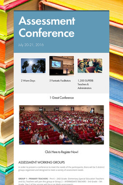 Assessment Conference