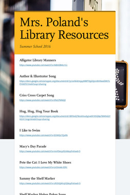 Mrs. Poland's Library Resources