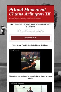 Primal Movement Chains Arlington TX