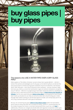 buy glass pipes | buy pipes