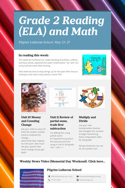 Grade 2 Reading (ELA) and Math