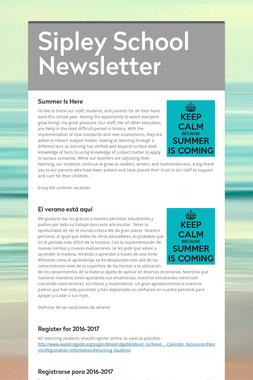 Sipley School Newsletter