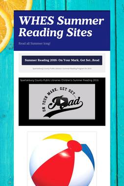 WHES Summer Reading Sites