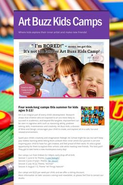 Art Buzz Kids Camps