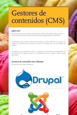 Gestores de contenidos (CMS)