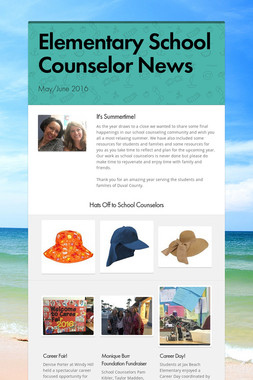 Elementary School Counselor News
