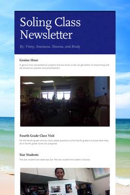 Soling Class Newsletter