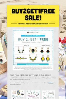 Buy2Get1Free SALE!