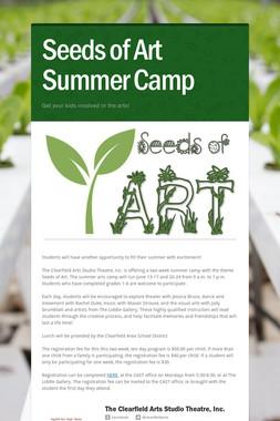 Seeds of Art Summer Camp