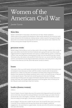 Women of the American Civil War
