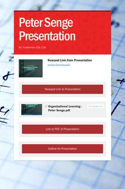 Peter Senge Presentation
