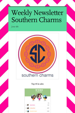 Weekly Newsletter Southern Charms
