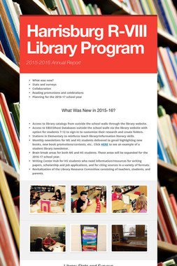 Harrisburg R-VIII Library Program