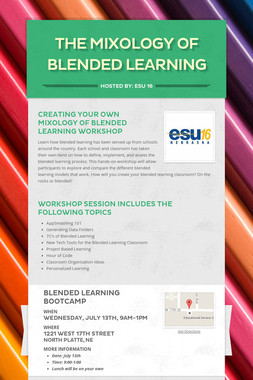 The Mixology of Blended Learning