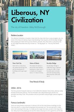 Liberous, NY Civilization