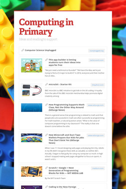 Computing in Primary
