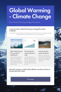 Global Warming - Climate Change