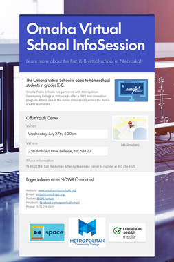 Omaha Virtual School InfoSession