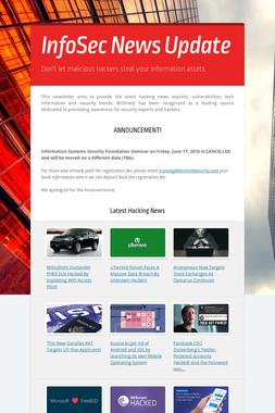 InfoSec News Update