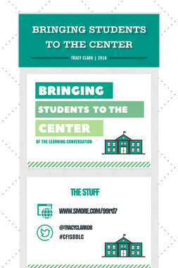Bringing Students To the Center