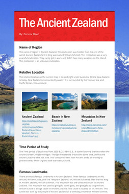 The Ancient Zealand