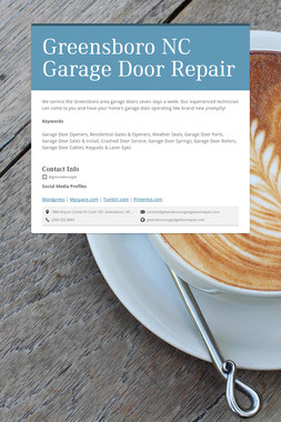 Greensboro NC Garage Door Repair