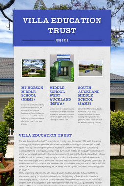 Villa Education Trust