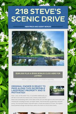 218 Steve's Scenic Drive