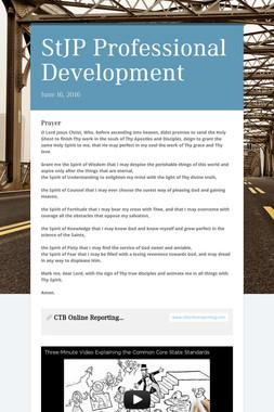 StJP Professional Development