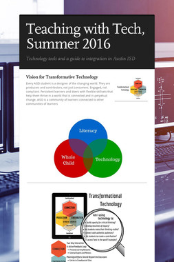 Teaching with Tech, Summer 2016