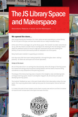 The JS Library Space and Makerspace